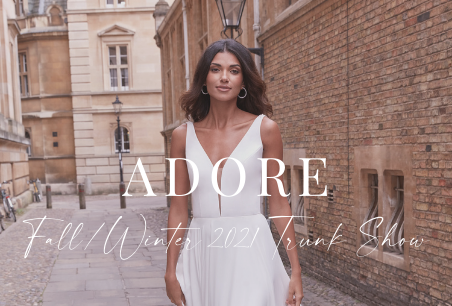 Adore by Justin Alexander Fall/Winter 2021 Trunk Show
