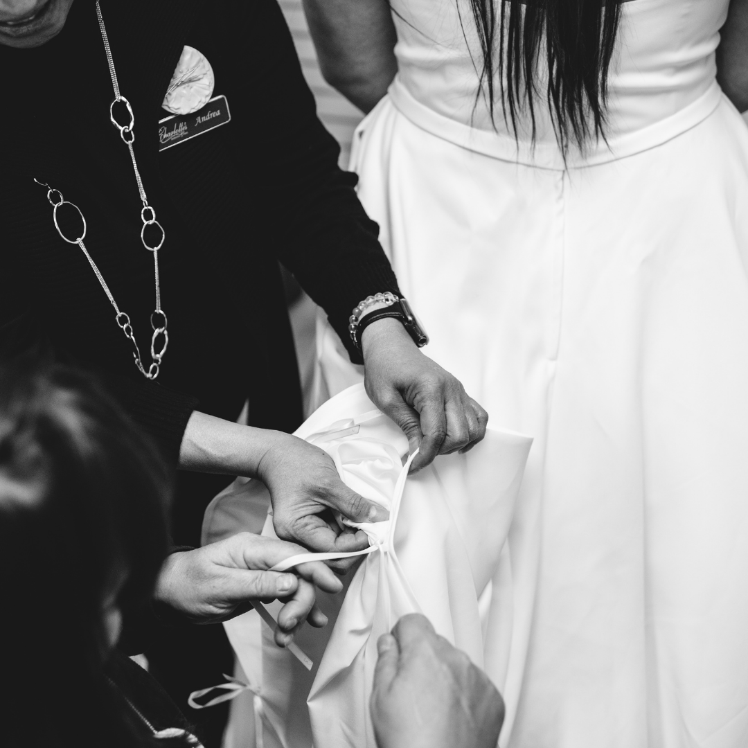 The Top 5 Wedding Dress Alterations Questions Answered Image