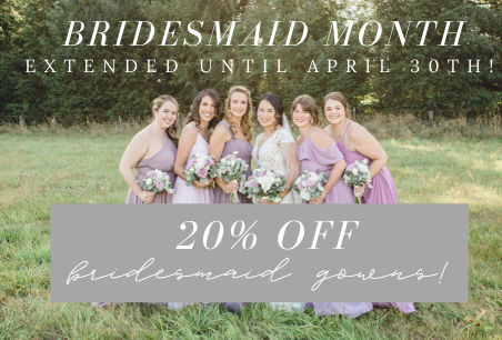 Bridesmaid Month