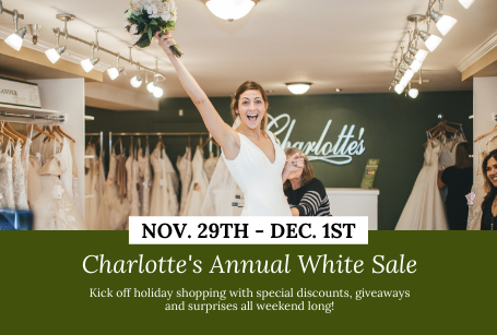 Charlotte's Annual White Sale