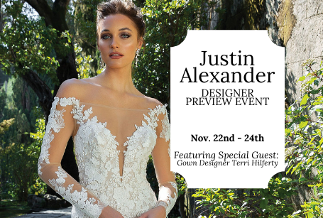 Justin Alexander Designer Preview Event