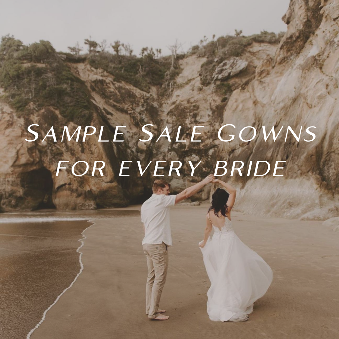Sample Sale Gowns for Every Bridal Style. Desktop Image