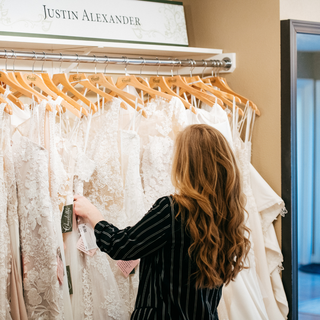 What To Bring When Shopping For Your Wedding Dress Image