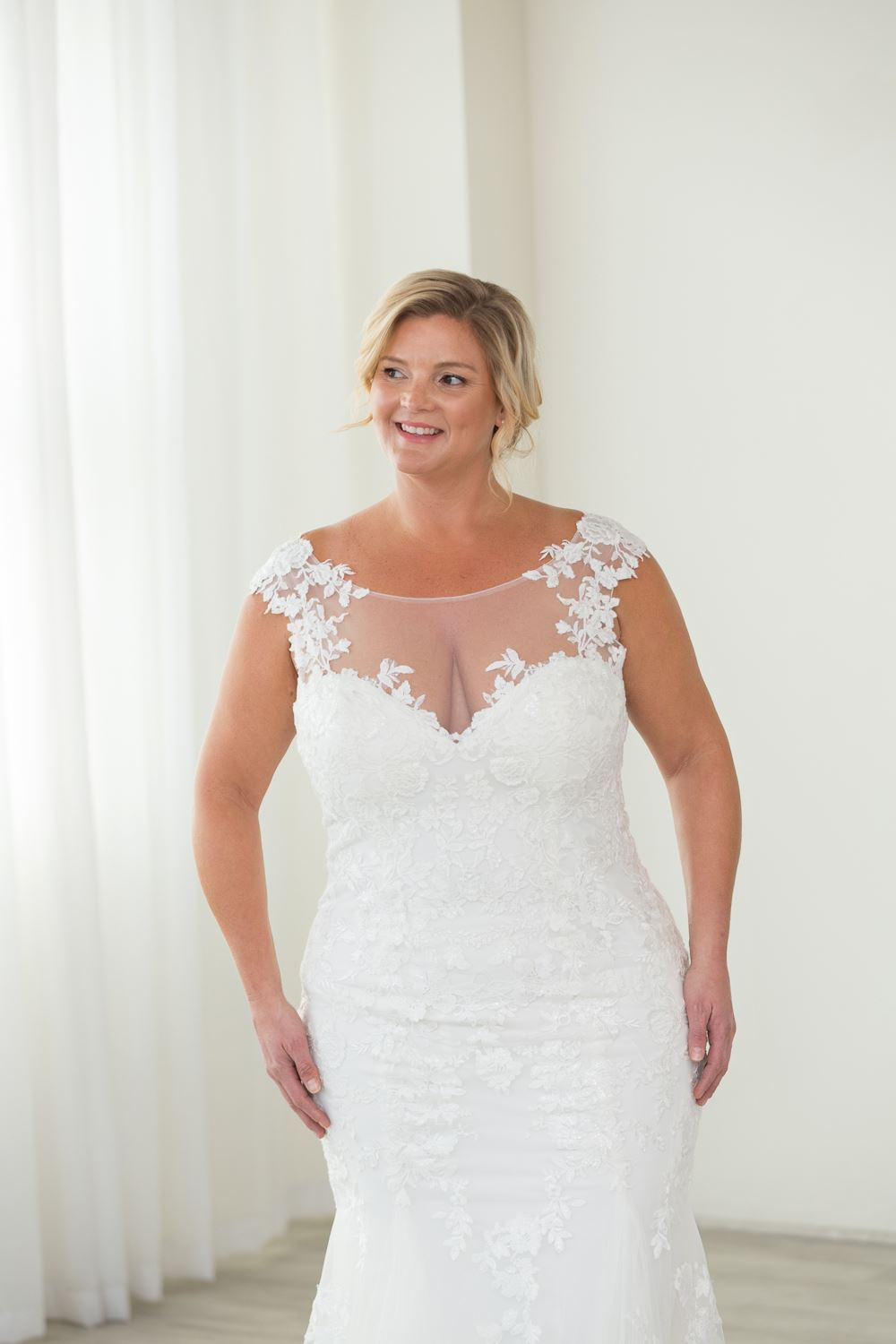 Marie tits discount mature wedding gowns with