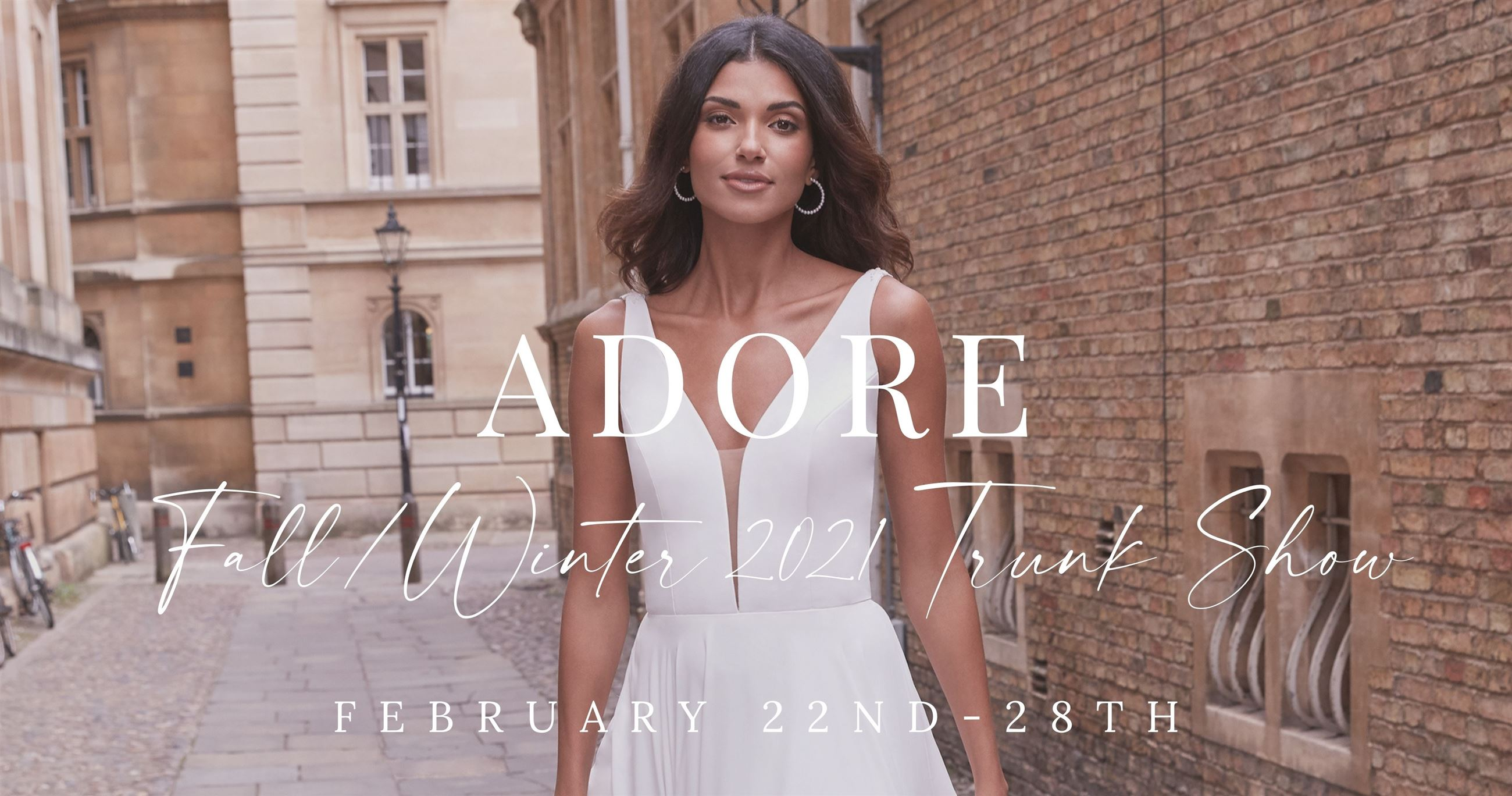adore by justin alexander fall/winter 2021 trunk show february 19th-21st