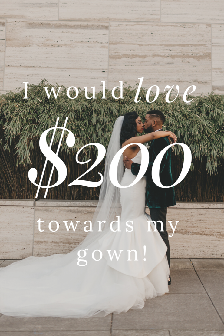 Charlotte's Style #$1000 Towards Your Wedding Gown